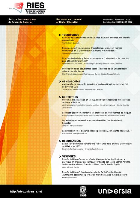 Revista Iberoamericana de Educación Superior | Educacion, ecologia y TIC | Scoop.it