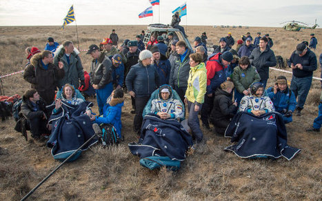 The return of three astronauts from the International Space Station marks the end of Expedition 49 | Science and technology | Scoop.it