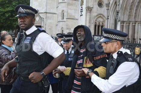 Peaceful Campaigners Arrested Outside Mark Duggan Inquest | SocialAction2015 | Scoop.it