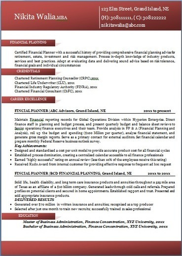 professional resume formats free download resume ideas
