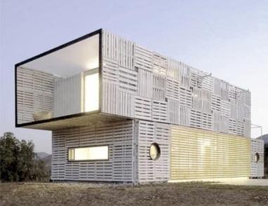 Des maisons en palettes ! | Palettes | Scoop.it