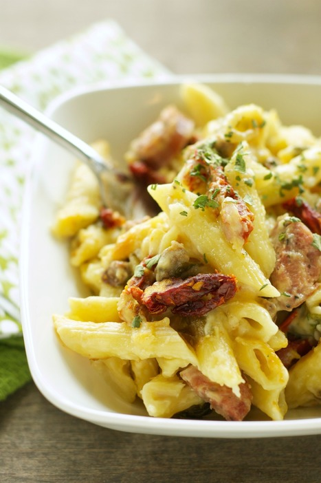 Bent Philipson Chef ,Crockpot Sausage Penne Bake with Sun-Dried Tomatoes and Spinach | Bent Philipson Chef | Scoop.it