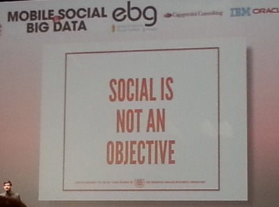 Social is not an objective – Ou comment l'EBG sonne la fin de la récré pour le marketing conversationnel | Culture Collaborative | Scoop.it