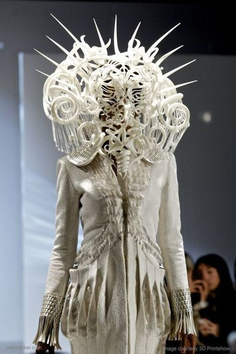Savagely Intricate Masks - Quixotic Divinity Headdress by Joshua Harker is Made for a Tribal Queen (TrendHunter.com) | Digital-News on Scoop.it today | Scoop.it