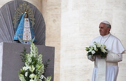 Pope tells nuns that they are like Mary, opening heaven | Just a Plain Jane Catholic | Scoop.it