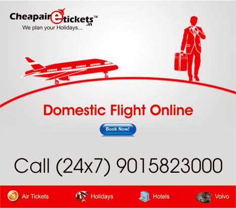 Advantages of Online Domestic Flight Ticket Booking   Top Vacation Deals   Scoop.it