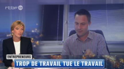 JT de RTBF⎥Le stress des entrepreneurs | L'actualité de l'Université de Liège (ULg) | Scoop.it