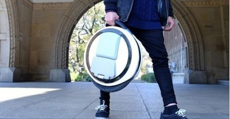 This Unicycle Will Give You The Butterflies | Soup for thought | Scoop.it