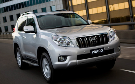 Toyota Land Cruiser Prado with Mitsubishi Pajero Sport | News | Scoop.it