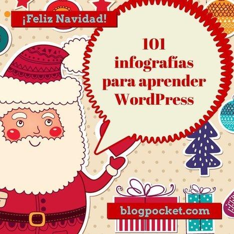 101 infografías para aprender WordPress fácilmente - Blogpocket | Recursos WordPress | Scoop.it