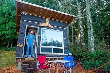 Man builds low-cost tiny home with recycled materials for $500 | WWWBiology | Scoop.it