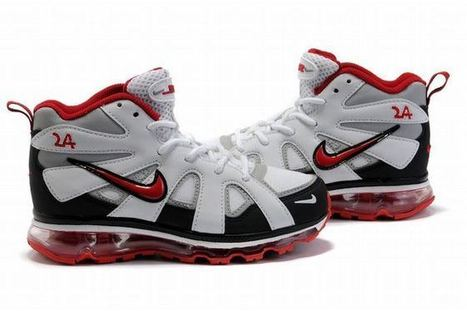 Nike Air Max Griffey Fury 2012 White/Red/Black Kid's | popular list | Scoop.it