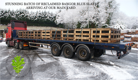 Reclaimed Bangor Blue Slates From Wilsons Yard | Wilsons Conservation Building Products | Scoop.it