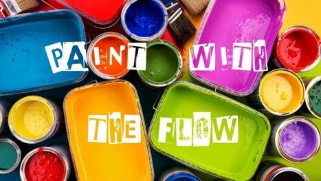 Paint with the flow: 1/5 | Pintakilta Original | Scoop.it