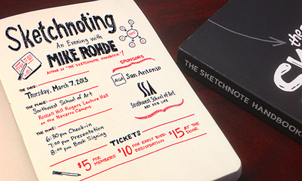 AIGA San Antonio | Sketchnoting with Mike Rohde | SKETCHNOTING | Scoop.it