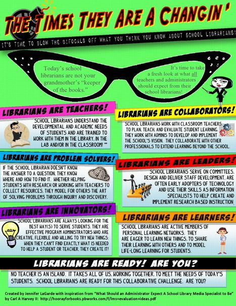 YourTeacherLibrarian - Are You Ready? | Hudson HS Learning Commons | Scoop.it