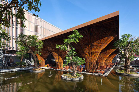 bamboo kontum indochine cafe by vo trong nghia architects | Tester | Scoop.it