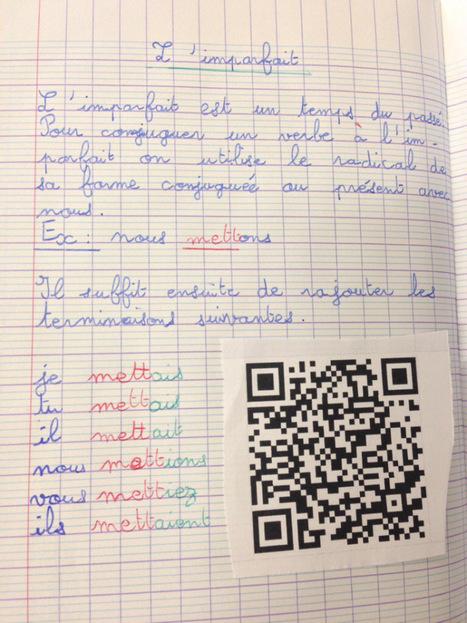 Le cahier de leçons augmenté | L'e-école | Scoop.it