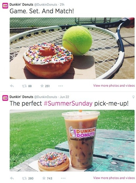 How delectable is Dunkin' Donuts' social media strategy?   Digital-News on Scoop.it today   Scoop.it