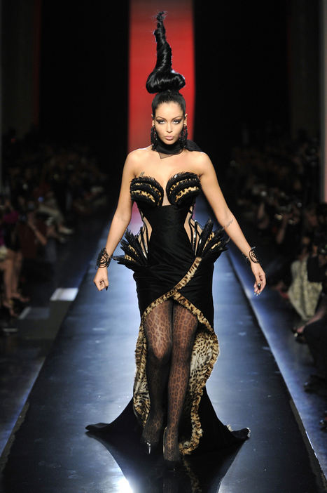 Jean Paul Gaultier Goes Gaudy This Fall With Swarovski Crystals and Animal Prints | Fashion News by JustLuxe | women fashion techniques | Scoop.it