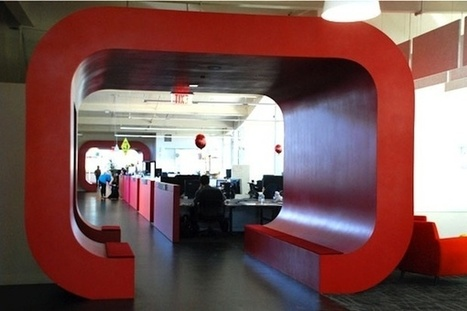 Guess Whose Office Has a Two-Story Slide? | 7x7 | Memoirs of a Chonga | Scoop.it