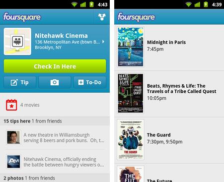 Nouvelle version de Foursquare pour Android avec évènements et photos. | toute l'info sur Foursquare | Scoop.it