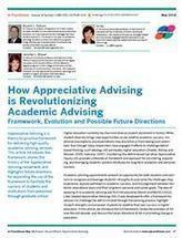 How Appreciative Advising is Revolutionizing Academic Advising | Art of Hosting | Scoop.it