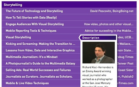 A Great Collection of Multimedia Storytelling Presentation Clips from KDMC | The art of innovation in education | Scoop.it