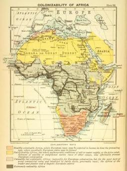 Colonizability of Africa(1899) | Culturally Teaching | Scoop.it