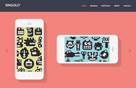 15 templates Responsive Webdesign gratuits | WebdesignerTrends - Ressources utiles pour le webdesign, actus du web, sélection de sites et de tutoriels | Actualité du marketing digital | Scoop.it