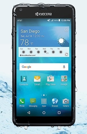 Kyocera Hydro SHORE A waterproof smartphone that fits your budget - Your News Ticker | technologynews | Scoop.it