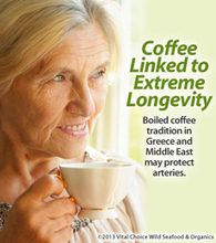 Coffee Linked to Extreme Longevity - Vital Choice | Longevity science | Scoop.it