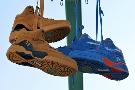 Sneakers : Ewing Athletics réédite ses paires mythiques ! | The ... | Sneakers_me | Scoop.it