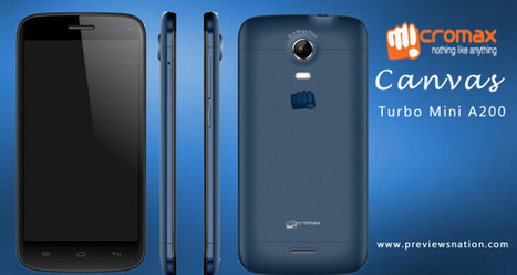 Micromax Canvas Turbo Mini A200 Phone Specification, Features, Price | Latest Smartphones | Scoop.it
