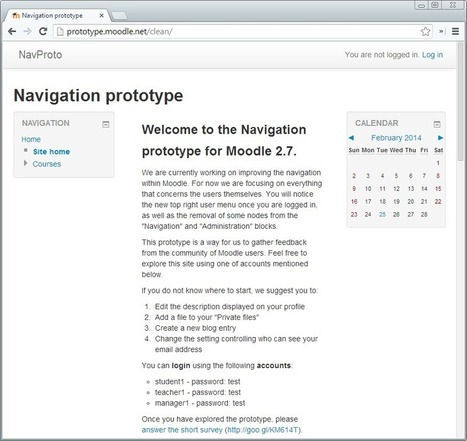 Clean slated to become the default theme in Moodle 2.7 | Moodling Around | Scoop.it