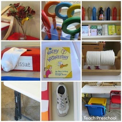 Reading Dr. Seuss: Wacky Wednesday | Teach Preschool | Teach Preschool | Scoop.it
