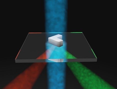 Optical antenna scatters different colors of light in different directions | Amazing Science | Scoop.it
