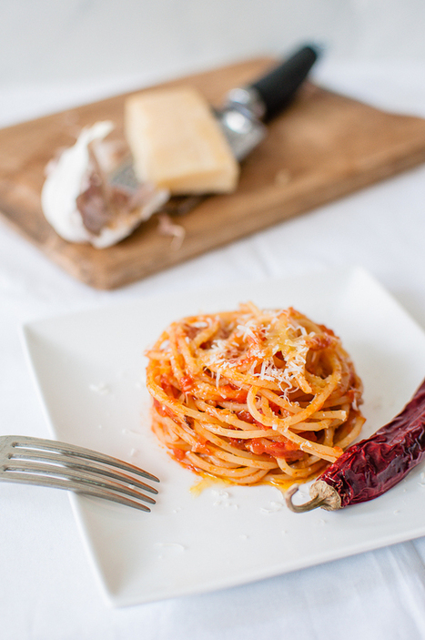 Spaghetti all'Arrabbiata - | Le Marche and Food | Scoop.it