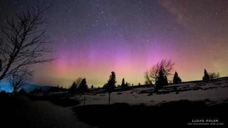 Des #aurores boréales observées dans le ciel de la #France | Hurtigruten Arctique Antarctique | Scoop.it