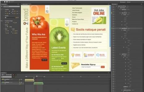 Adobe Edge – La nueva herramienta de Adobe para crear animaciones en HTML5 [Vídeos] | Aplicaciones y Herramientas . Software de Diseño | Scoop.it