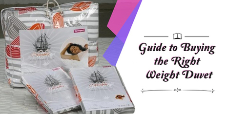 Buying duvets online? Know how to choose the right one | Get Online Best pillows for Good Sleep | Scoop.it
