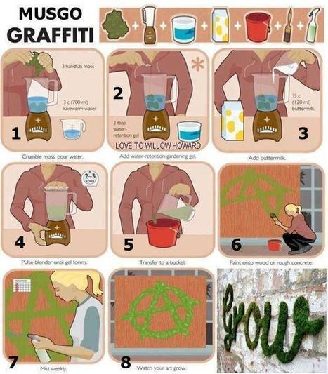 Guerrilla Gardening – Moss Graffiti | Go.Asia | Ecograffiti | Scoop.it