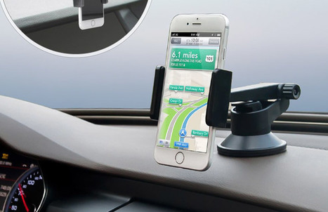 Best iPhone SE Car Mounts: Give your iPhone a Seat in Your Car | iPhone and iPad Accessories | Scoop.it