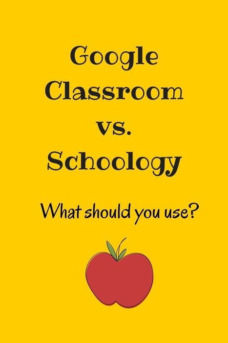 Teaching with Technology: Google Classroom OR Schoology? Here's How I Use BOTH Effectively | Edmodo and Schoology | Scoop.it