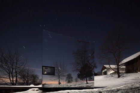 """Aux antipodes du tape à l'oeil, voici la """"maison invisible"""". Vous voyez ? Non ? Regardez mieux.   Inspiration - Emotion - Motivation - Fun   Scoop.it"""
