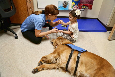 Girl forges bond with dog, progresses in speech therapy | Humanity | Scoop.it