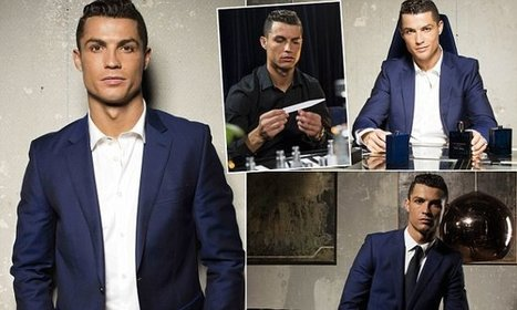 Cristiano Ronaldo launches fragrance with help from Jorge Mendes | MyLuso News | Scoop.it