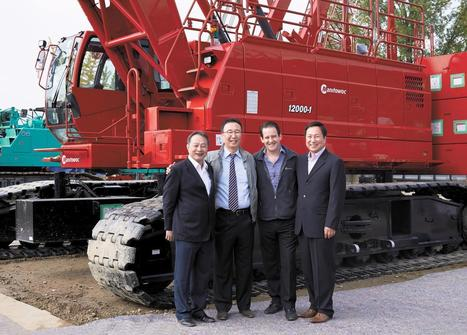 Shinui Petra shows off its Manitowoc crawler cranes | Plant Technology | Cranes & Hoists | Scoop.it