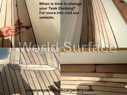 When to change your Teak decking - Boat Flooring | Teak Decking | Scoop.it