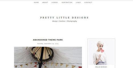 Pretty Little Designs Blogger Theme | Blogger themes | Scoop.it